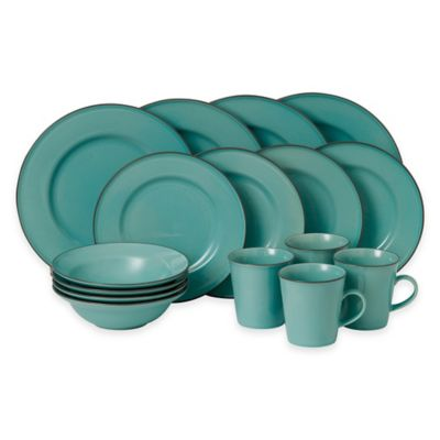 Gordon Ramsay by Royal Doulton® Union Street 16-Piece Dinnerware Set in Blue  sc 1 st  Bed Bath \u0026 Beyond & Buy Gordon Ramsay Dinnerware from Bed Bath \u0026 Beyond