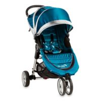 Baby Jogger® City Mini® 3-Wheel Single Stroller in Teal/Grey