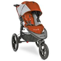 Baby Jogger® Summit™ X3 Single Stroller in Orange/Grey