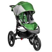 Baby Jogger® Summit™ X3 Single Stroller in Green/Grey