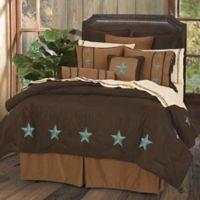 HiEnd Accents Laredo Queen Comforter Set with Bed Skirt