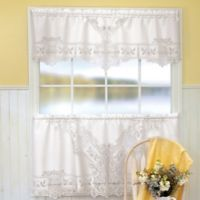 Heritage Lace® Heirloom Window Valance in White