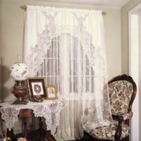 Heritage Lace® Heirloom Window Swag Pair in Ecru
