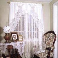 Heritage Lace® Heirloom Window Swag Pair in White