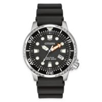 Citizen Eco-Drive Men's 42mm Promaster Diver Watch in Stainless Steel with Black Polyurethane Strap