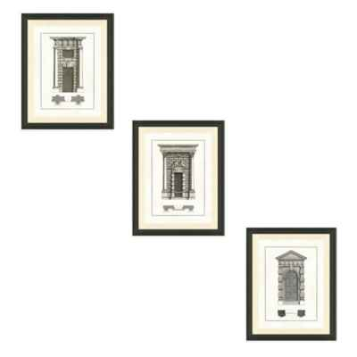 Door Architecture Framed Art Print