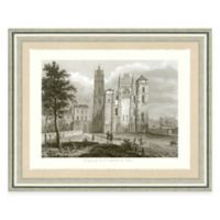 Architectural Structure IV Framed Art Print