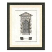 Door Architecture I Framed Art Print