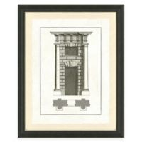 Door Architecture II Framed Art Print