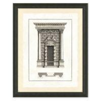 Door Architecture III Framed Art Print