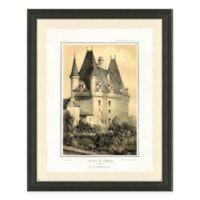 Castle I Framed Art Print