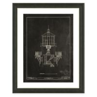 Framed Giclée Lighthouse Patent II Art Print