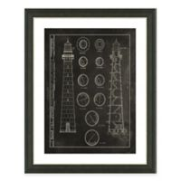 Framed Giclée Lighthouse Patent IV Art Print