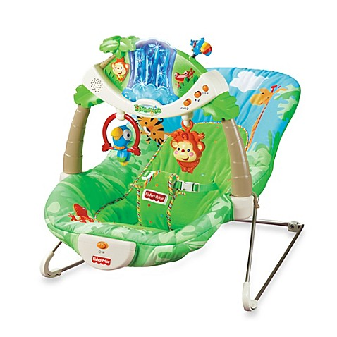Fisher Price 174 Rain Forest Bouncer Bed Bath Amp Beyond