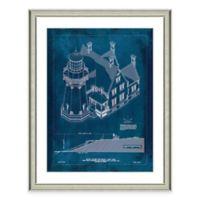 Framed Giclée Block Island Lighthouse Patent Print Wall Art