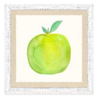 Framed Giclée Water Color Apple Print Wall Art