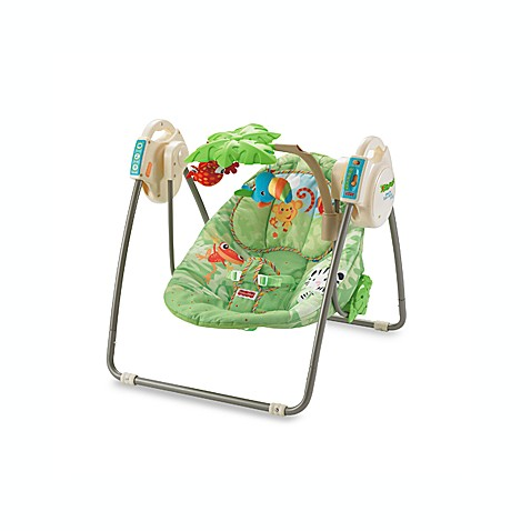 Fisher Price 174 Rainforest Open Top Take Along Swing