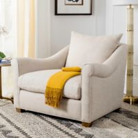 Safavieh Frasier Arm Chair in Natural