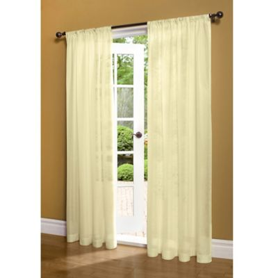 Buy 72 inch Sheer Curtain Panels from Bed Bath & Beyond