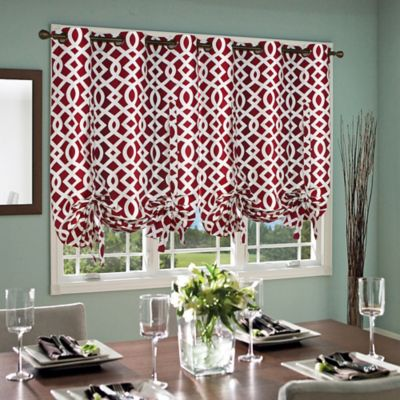 Buy Black And Red Curtains From Bed Bath Amp Beyond