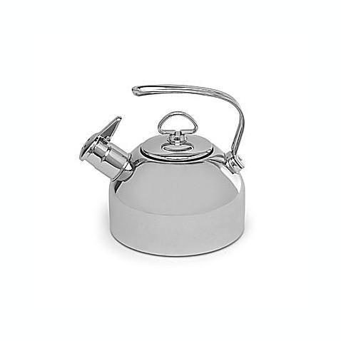 chantal 174 1 8 quart stainless steel tea kettle bed bath