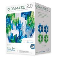 Q-BA Maze 2.0 Starter Box 50-Piece in Cool Colors