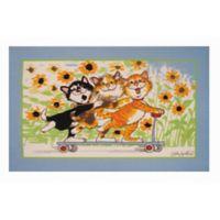 Fun Rugs™ Duckport Kitties 3-Foot 3-Inch x 4-Foot 10-Inch Area Rug