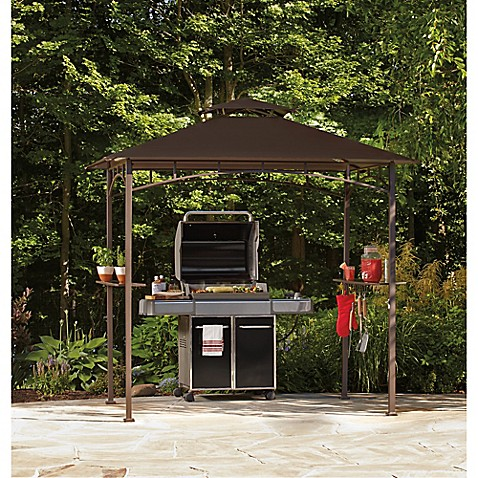 Grill Gazebo With LED Lights