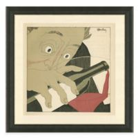 Framed Giclée Wine Guys II Print Wall Art