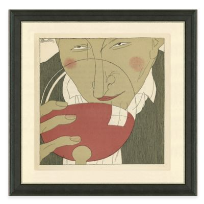 Framed Giclée Wine Guys III Print Wall Art