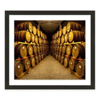 Framed Giclée Winery Print III Wall Art