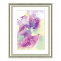 Framed Giclée Watercolor Multicolor Print I Wall Art