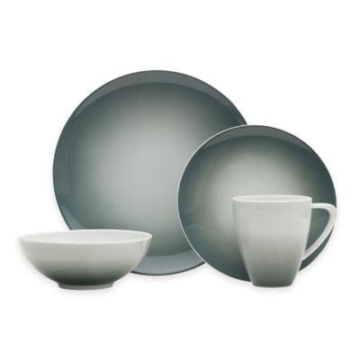 Mikasa® Naya 4-Piece Place Setting in Grey Ombré  sc 1 st  Bed Bath u0026 Beyond & Buy Porcelain Dinnerware Sets from Bed Bath u0026 Beyond