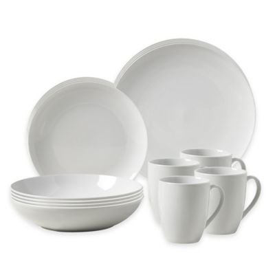 Tabletops Gallery® Collins 16 Piece Coupe Dinnerware Set
