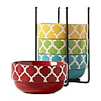 Tabletops Gallery® Tile 5-Piece Stacking Bowl Set
