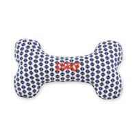 Territory® Adventure Small Squeaker Bone Dog Toy in Blue