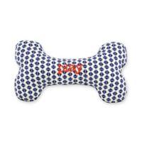 Territory® Adventure Large Squeaker Bone Dog Toy in Blue
