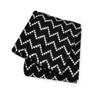 Territory® Modern Fleece Pet Blanket in Black