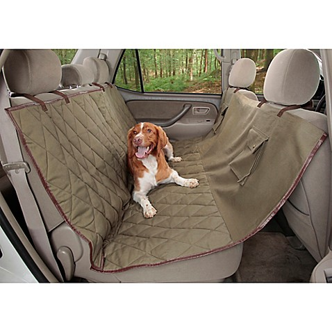 Deluxe Extra Wide Pet Hammock Seat Cover For Dogs Bed