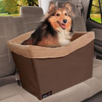 Solvit® Tagalong™ Standard Pet Safety Seat in Brown