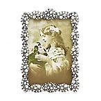 Tizo Design 8-Inch x 10-Inch Faux-Pearl Cluster Jeweltone with Crystals Picture Frame