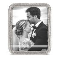 Tiffany Crystal 8-Inch x 10-Inch Picture Frame in Silver