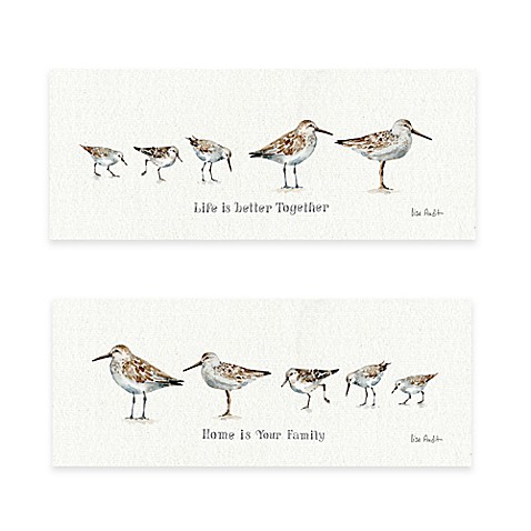 Pebbles & Sandpipers Wall Art - Bed Bath & Beyond