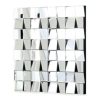 Abbyson Living® Isabelle Square Mirror in Silver