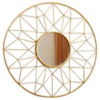 Abbyson Living® 31.5-Inch Marie Mirror in Gold