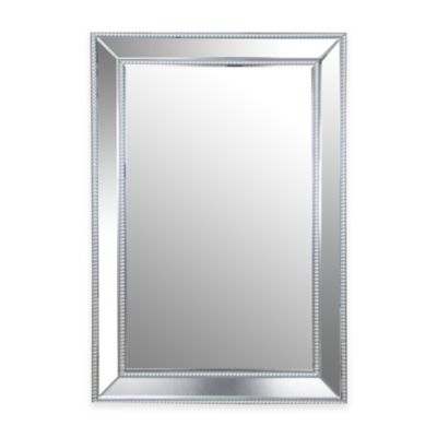 abbyson living 325 inch x 47 inch rectangular venice wall mirror