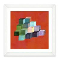 Watercolor Blocks I Framed Art Print
