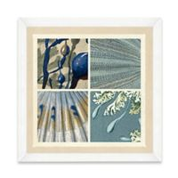Sea Life Pattern III Framed Art Print