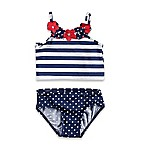 Baby Buns Size 12M 2-Piece Americana Swimsuit in Red/White/Blue