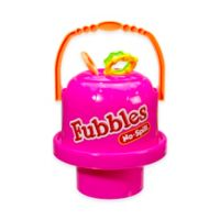 Little Kids® Fubbles™ No-Spill® Big Bubble Bucket® in Pink